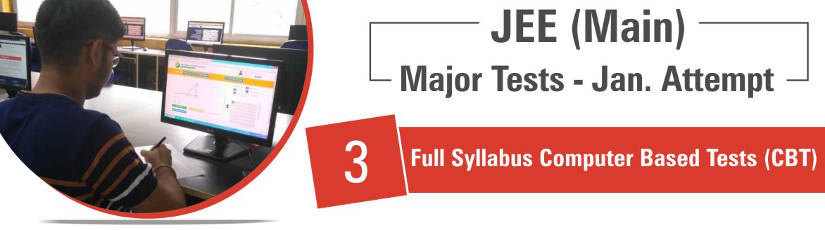 JEE-Main 3 Full Syllabus CBT Jan (Attempt)
