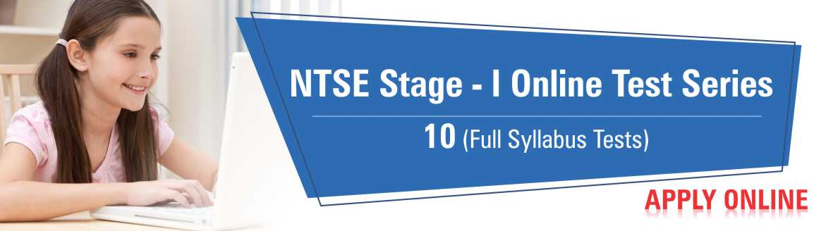 NTSE-II Online Test Series