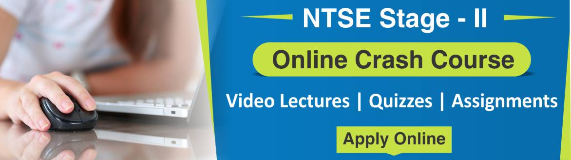 NTSE Stage-2 Online Crash Course